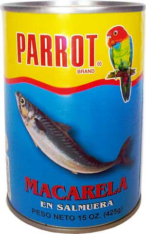 can of Mackerel in Brine 15 oz. (New York)