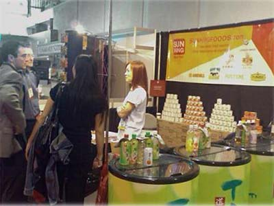 picture of Sun Hing Foods booth at Ethnic & Specialty Expo